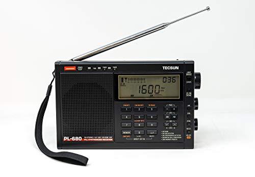 Tecsun PL680 Portable Digital PLL Dual Conversion AM/FM/LW/SW and Air Band Radio with SSB (Single Side Band) Reception