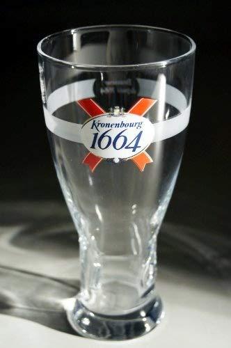 Kronenbourg 1664 Pint Glasses CE 568ml/20oz (Set of 2) by Kronenbourg 1664