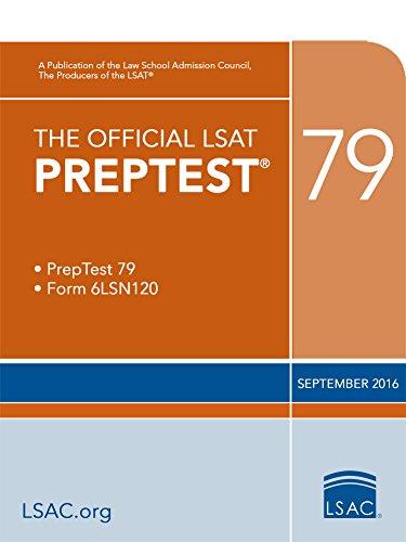 The Official LSAT PrepTest 79 (The Official LSAT PrepTests)