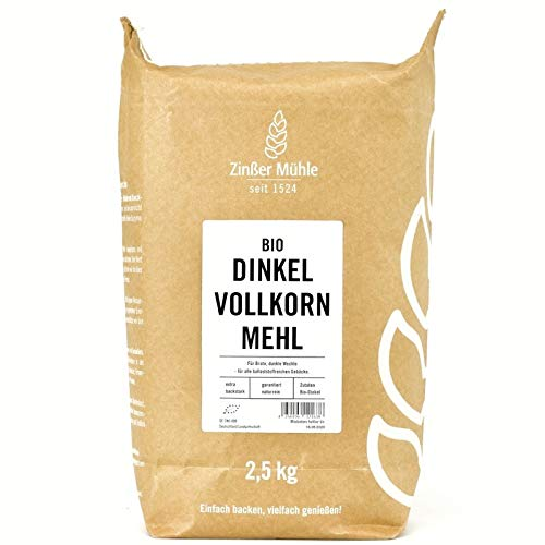 Dinkelvollkornmehl Bio 2,5 kg