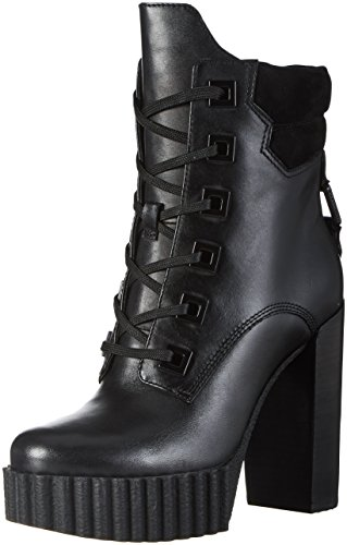 Kendall + Kylie Damen KKCOTY Biker Boots, Schwarz (Black Multi (Regal Matte) Leather), 39.5 EU