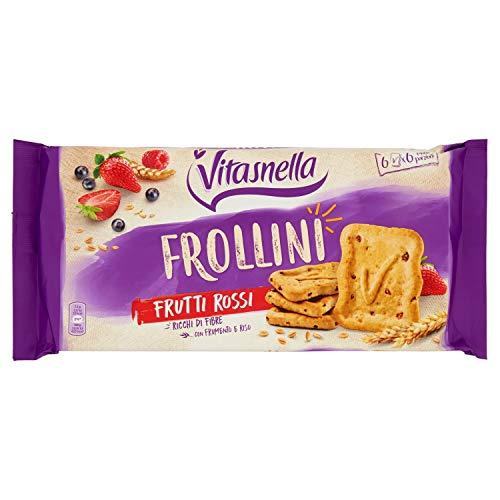 Vitasnella Frollini Cereali Frutti Rossi - 270 g
