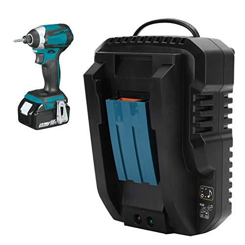 Cargador de batería, cargador de iones de litio, cargador de herramientas eléctricas, para cargador de iones de litio Cargador de batería Chip de memoria de la batería(Transl)