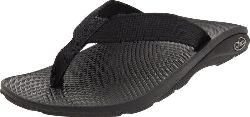 Chaco Men's Flip EcoTread Sandal,Black,7 M US