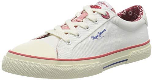 Pepe Jeans Kenton London, Zapatillas Mujer, 803off White, 37 EU