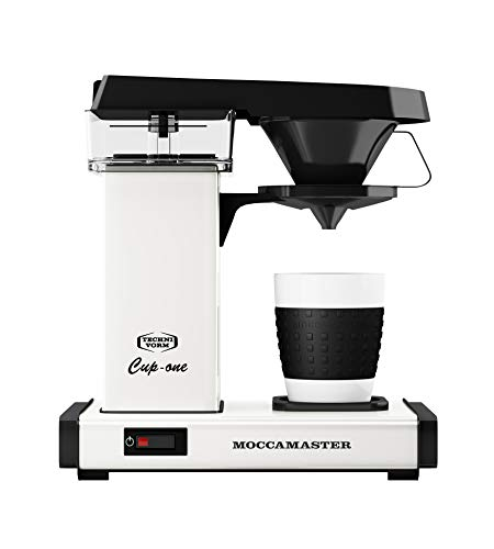 Moccamaster Filter Kaffeemaschine Cup-one, 0.3 Liter, 1090 W, Off-White