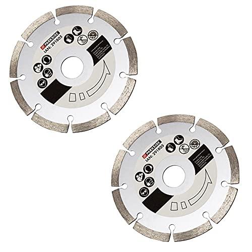 Disco da taglio diamantato, set da 2 pezzi, per fresatrice Parkside 1350 C3 - LIDL IAN 291805