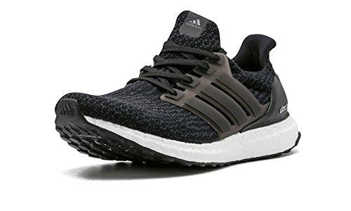 adidas Men's Ultraboost Running Shoe, Black/Dark Grey,...