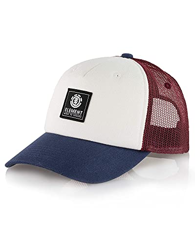 Element Icon Mesh Cap Caps, Hombre, Oxblood Red, One Size