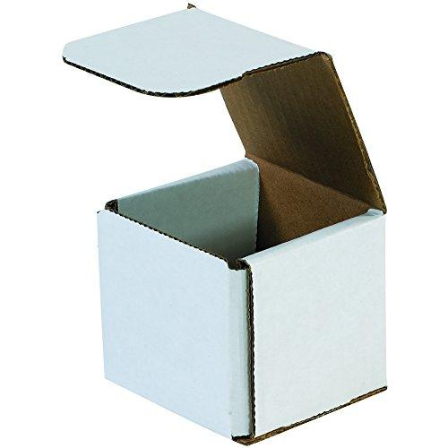 "Aviditi M777 Corrugated Mailers, 7"" x 7"" x 7"", Oyster White (pacote com 50)"