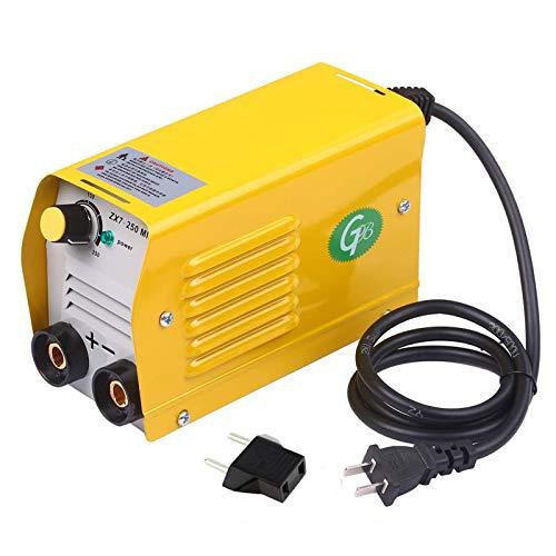 Soldador inverter portátil de 250 Amps, soldador de arco IGBT para barras de 2,5 – 3,2 mm para soldadura eléctrica