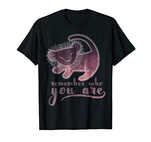 Disney Lion King Simba Remember Painting Graphic T-Shirt