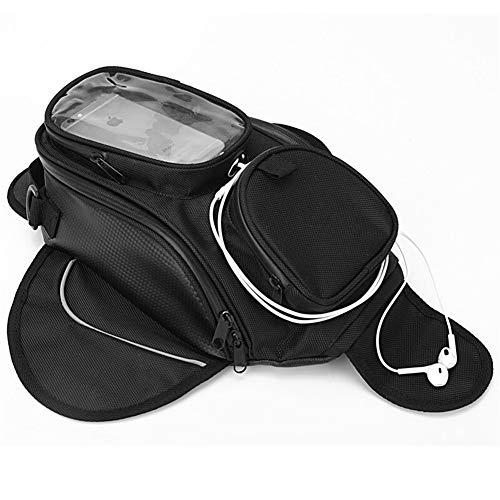 Borse Da Serbatoio Impermeabile motore Borsa da serbatoio magnetica Bag Black spalla Moto Scopare singolo sacchetto Zaino Moto Bag (Size : As picture)