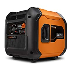 Ideal for work or play - durable steel enclosure, clean inverter power and easy portability make this the ideal generator for jobsites or recreational activities 16% more power than Honda, Featuring power rush advanced technology.Rated AC Frequency:6...