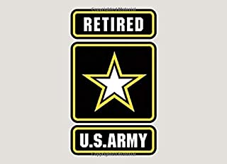 Retired U.S. Army: Retirement Guest Book | Congratulations Guestbook For US Army Soldiers | Retirement Day Party Keepsake Message Journal Book | Sergeant Or Officer Guest Book