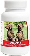 Healthy Breeds Doberman Pinscher Puppy Dog Multivitamin Tablet 60 Count
