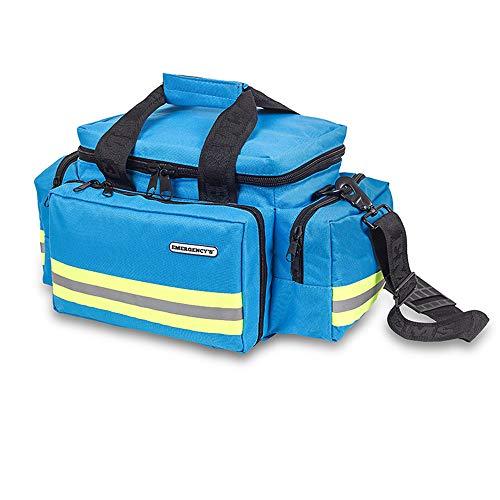 Elite Bags Notfalltasche, leicht und robust, reflektierend und mit Mehreren Taschen, Hellblau
