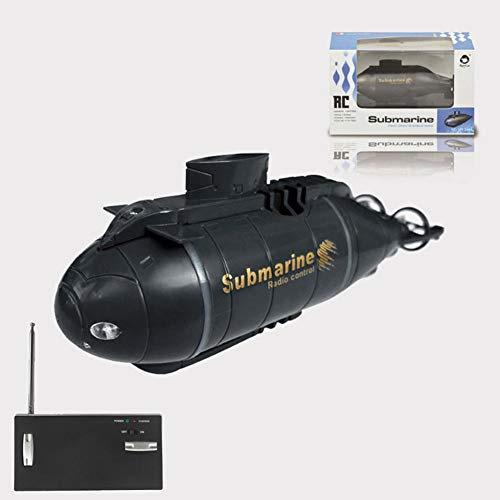 Mini submarino eléctrico, juguete de submarina, juguete eléctrico de juguete, mando a distancia, barco, barco, en bañera, piscinas, regalos para niños