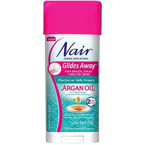 Nair Crema Depiladora Glides Away Argan Oil 86ml