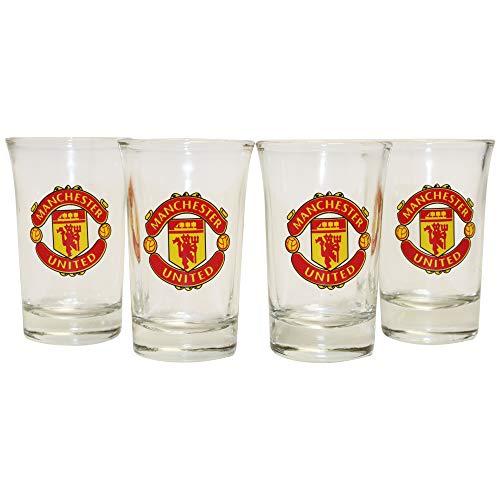 FOCO Manchester United FC Shot-Brille, 4 Stück