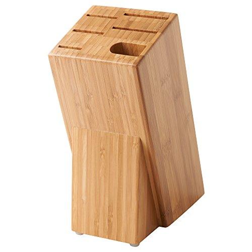 IKEA (イケア) HYVLA ナイフ立て,包丁立て  竹 40307833