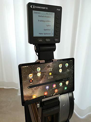 Generisch Concept2 Model C & Model D Tablet und Smartphone Halterung bis 11 Zoll Bildschirmdiagonale