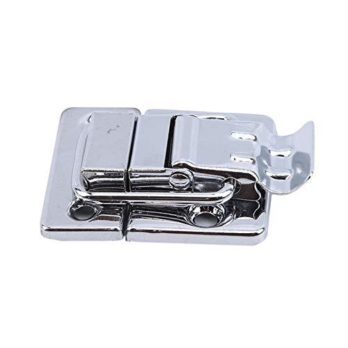 ZHANGJIAN Pestillo de Palanca de Cromo de Acero Inoxidable para Caja de Caja de Pecho Maleta Maleta Herramienta Cierre de Clavos Cinturón de Bloqueo Cinturón de Bloqueo Herkle Hardware Robusto