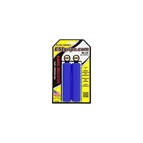 ESI Extra Chunky Silikongriffe, 34 mm, Blau