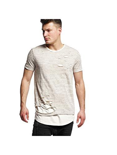Black Kaviar - Stanwood - T-Shirt - beige 6037346B - L, Beige