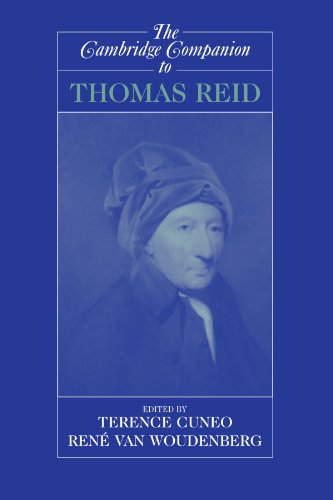 The Cambridge Companion to Thomas Reid (Cambridge Companions to Philosophy)