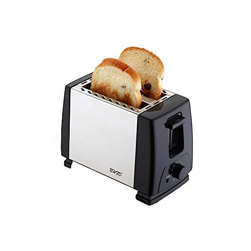 Tostadora automática, 2 Ranura Larga, 2 rebanadas de pan, 750 W, 6 Funciones,acero inoxidable