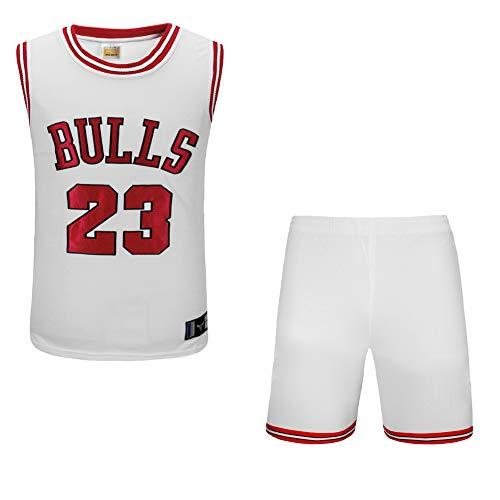 Basketball-Kleidung für Männer und Frauen Jordan 23 Champion Sticktrikot Bulls Chicago Retro-Anzug High-End-Stickerei-Prozess-Jordan2-M