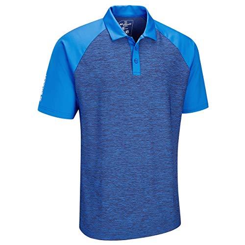 Stuburt SBTS1079, Sbts1079-Polo da Golf da Uomo Evolve Milby, Blu Imperiale, M