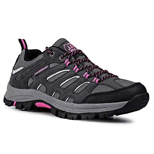 Zapatos de Senderismo Impermeables para Mujer Zapatillas JW1006 Jack Walker (36 EU)