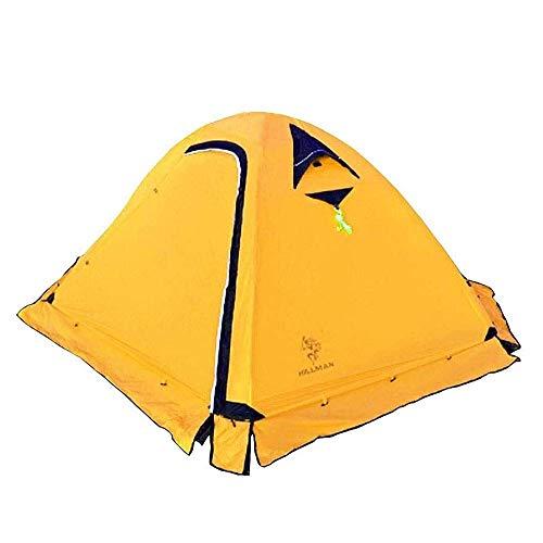N/Z Equipo de Campamento Tiendas de campaña para Camping Tienda Impermeable Ligero 3 Estaciones Camping/Viajes 3-4 Personas Carpa Domo Impermeable de Doble Capa con Bolsa de Transporte