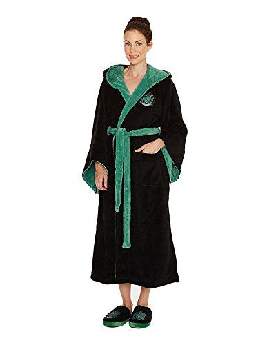 Groovy Uk Harry Potter Slytherin Womens Fleece Badjas