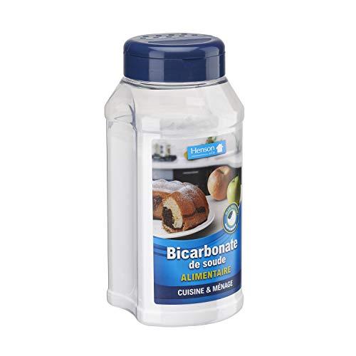 Bicarbonate de soude polyvalent alimentaire 800g Henson
