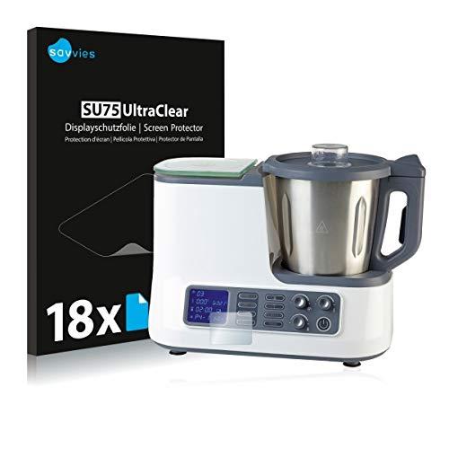 günstig 18 Savvies SU75 Quigg / Ambiano WiFi Ultra Clear Schutzfolie für Küchenmaschinen… Vergleich im Deutschland