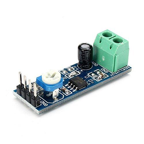 BouBou Módulo Lm386 De 10 Piezas Módulo De Amplificador De Audio De Ganancia De 20 Veces con Resistencia Ajustable