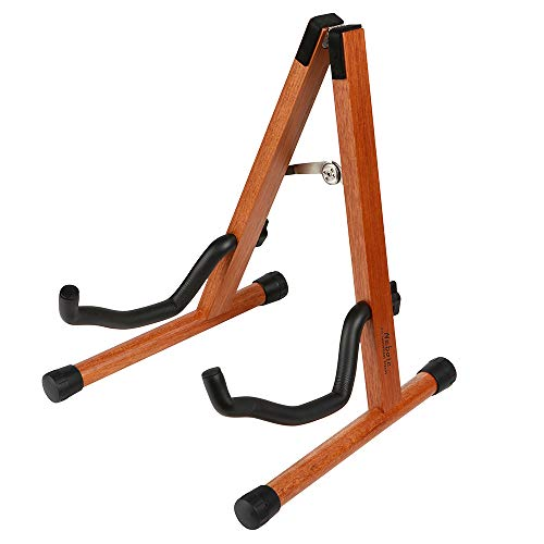 Guitar Stand, Neboic Wood Acoustic Guitar Stand, Electric Guitar Stand,Bass Classic banjo Guitar Stand, Portable Guitar Stand Holder for Multiple Guitars, Guitar Accessories