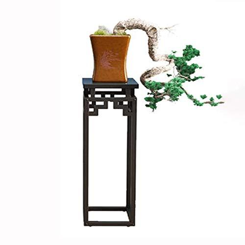 XYJNN Etagere Plantes-Cache Pot sur Pied Support de Fleur Simple Chambre étagère intégrée au Sol en Fer forgé Salon Radis Vert Meuble TV bonsaï Pot de Fleur étagère Support de Fleur