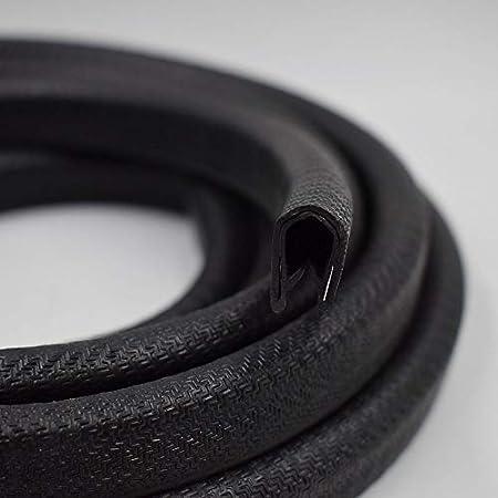 Push-On Edge Guard U Extrusion PVC Plastic Window Molding /& Trim Size Kaixuan Edge Trim Black Large 1 Feet Fits 1//4 U Height: 0.57 Edge Protector for Sharp and Rough Surfaces