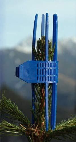 Wildverbiss-Schutz - Verbissschutzmanschetten (TS) 300 STK. in Blau - Ganzjahresschutz gegen Wildverbiss