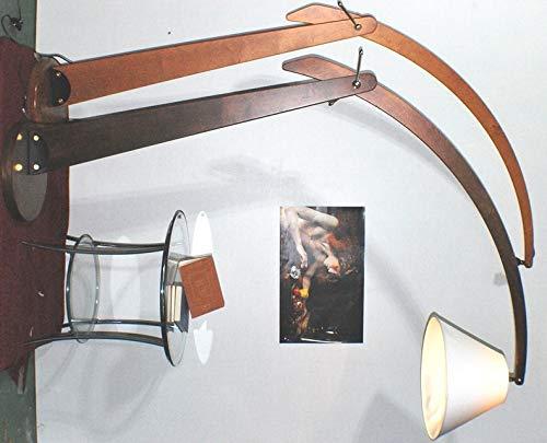 Klassische Stehlampe ARCO Kirsche