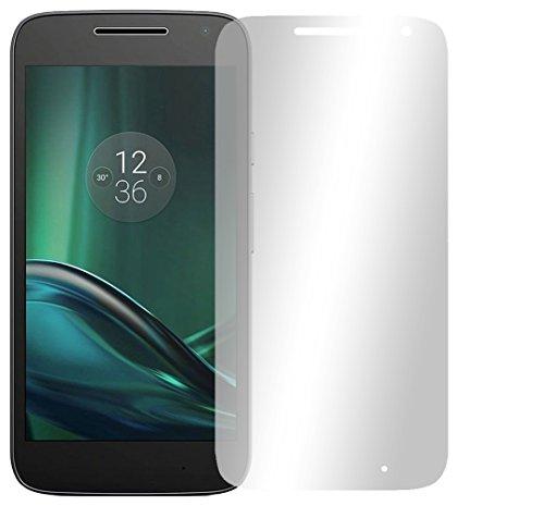 Slabo 4 x Bildschirmschutzfolie für Lenovo Moto G4 Play Bildschirmfolie Schutzfolie Folie Zubehör Crystal Clear KLAR