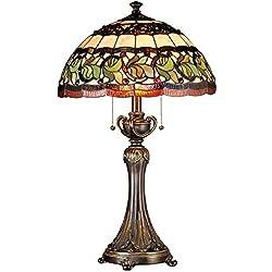 Dale Tiffany TT101110 Aldridge Table Lamp, Bronze
