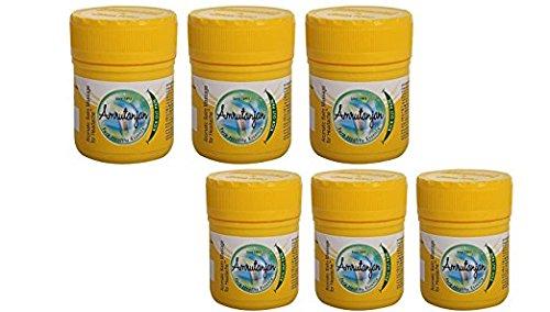 Pack of 6 - Amrutanjan Pain Balm Yellow - 9g