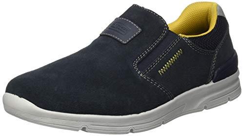 Rieker Herren 16450 Sneaker, Pazifik/Navy/Navy/Grigio 15, 42 EU