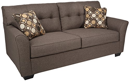 Signature Design by Ashley - Tibbee Contemporary Sofa, Slate