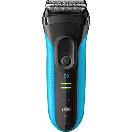 Braun Series 3 ProSkin 3040s Electric Razor for Men, Rechargeable and Cordless Electric Shaver, Wet & Dry Foil Shaver, Blue